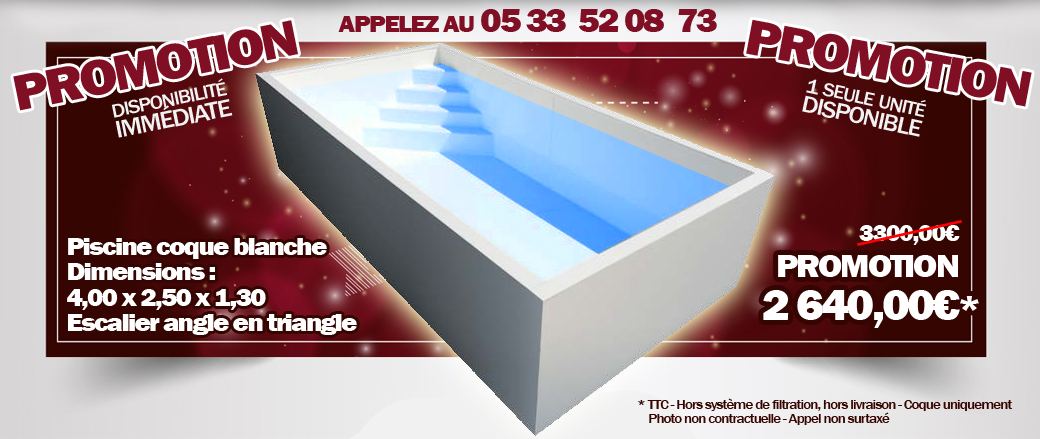 Promotion piscine for Promotion de piscine