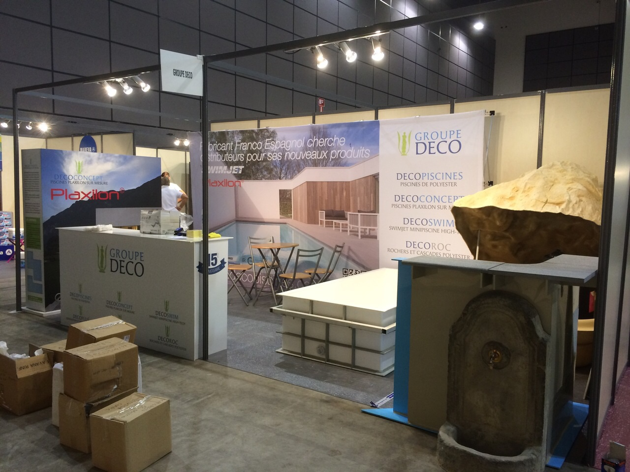STAND HYDROSUD GROUPE DECO