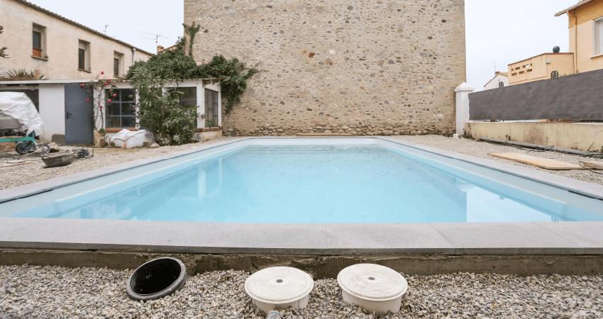 puits de décompression de piscine