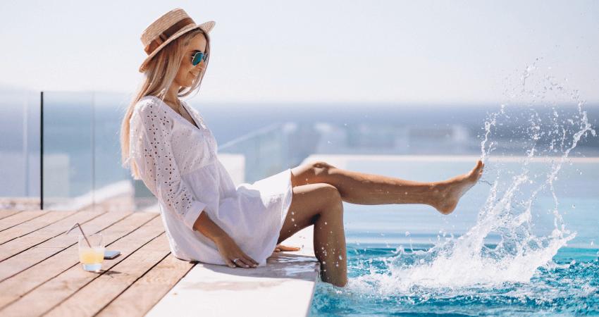 utiliser du sel dans une piscine en polyester